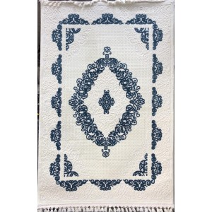 Florya Turkish carpets 8655 cream and cyan
