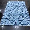 Turkish coral carpet 061 dark blue