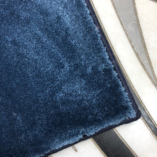 Plain carpet jasmine 1126 blue