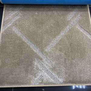 Plain beige carpet
