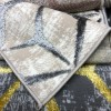Turkish Mercedes Carpet Revan 412 beige and gray