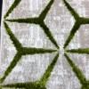 Turkish Mercedes Carpet Revan 412 beige and green