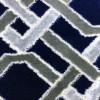 Turkish wedding carpets 9465 dark blue with gray