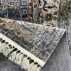 Bulgarian Carpets Lisbon B678A grey multi aqua