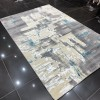 Turkish rugs Luka gray and heavenly