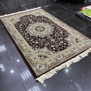 Turkish Al-Farah carpets 20027 dark brown