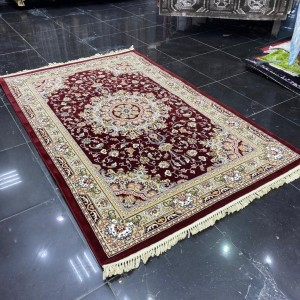 Turkish carpets joy 20027 red burgundy