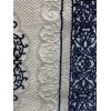 Turkish rugs Santiago blue, pink, beige and brown