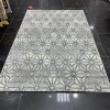 Turkish carpet Florence 6312 gray with green