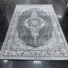 Turkish Carpet Aqua 5045 Gray Black B