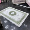 Bulgarian Mirage 450 rugs, green and gray
