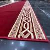 Royal Corridor formal red frame drawer brushes 2