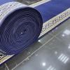 Formal royal corridor, drawer frame, dark blue color