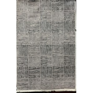 Turkish carpet princess dark gray