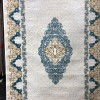 Turkish carpets Istanbul 5152 cream and cyan