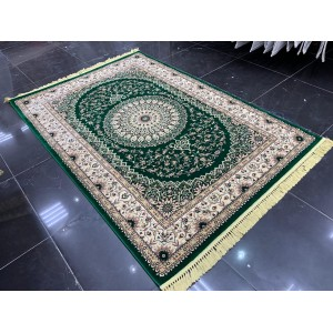 Turkish carpets Khorezm 8660 Oil green