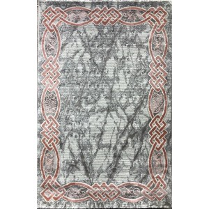 Turkish carpets Lancome 629 gray with pink