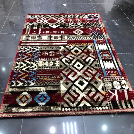 Turkish heritage rugs 7543 red