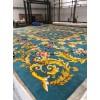 Handmade New Zealand wool 12-14 mm high and weighing 4 kilograms per square meter. Handmade