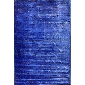 Turkish carpets Elsa 49 d blue