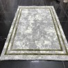 Turkish rugs New Soft 52 light gray with green