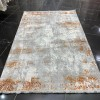 Turkish rugs New Soft 75 light gray with orange