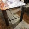 Iron table size 50 * 80