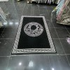Versace Maybach black white rugs