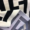 Fendi carpets, white and black