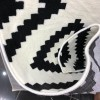 New May Bach Turkish carpets white and black