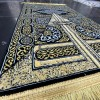 Luxurious prayer rug inspired by the Great Mosque of Mecca at the door of the Kaaba